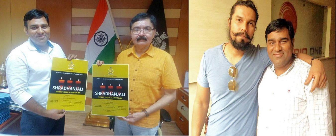 Making-and-Launching-of-our-Film-SHRADHANJALI-with-Director-General-of-Police-Manoj-Bhatt-and-Actor-Randeep-Hooda